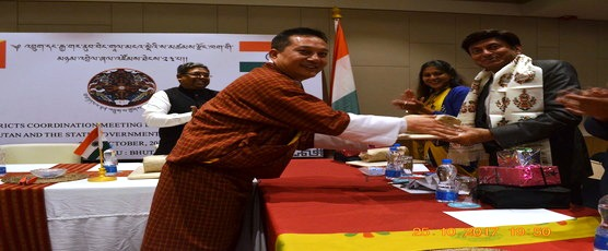 23rd BDC Meeting between Royal Government of Bhutan and State Government of West Bengal on 24-25 October, 2017