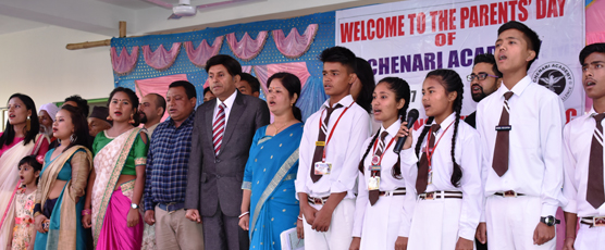 Consul General Shri Pieyush Gupta as Chief Guest at The Annual Concert 2017 of Chenari Academy, Jaigaon  West Bengal.