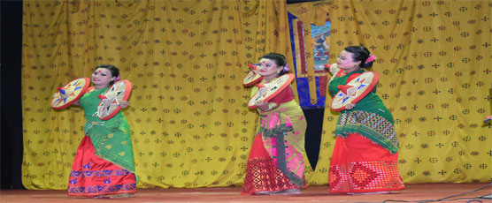 Some glimpses of cultural evening on Music and Dances of North East India organised by Consulate General of India Phuentsholing, In association with Gaeddu College of Business Studies, Gedu on 28th February, 2018