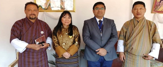 Consul General Shri Ashish Middha met Ms Phub Zam, President of Bhutan Chamber of Commerce and Industry (BCCI),  Mr Tandin Wangchuk, Vice President and Mr Chandra Chhetri, Deputy Secretary General in Thimphu today. Issues .....