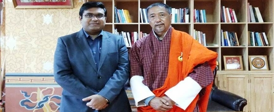 Consul General Shri Ashish Middha called on Dasho Tshering Wangchuk, Chief Justice of Supreme Court of Bhutan in Thimphu on March 26, 2019.