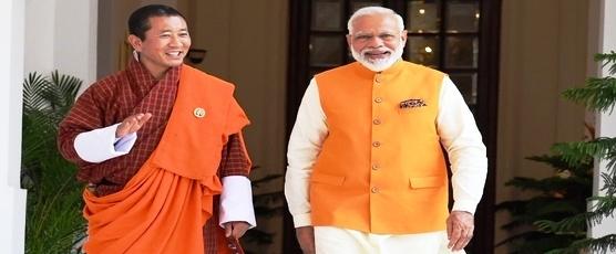 Prime Minister Shri Narendra Modi and Lyonchhen (Dr.) Lotay Tshering held fruitful deliberations in New Delhi
