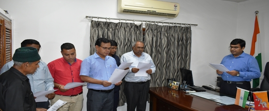 Today, Consul General Shri Ashish Middha administered the pledge to officials on the occasion of Rashtriya Ekta Diwas.